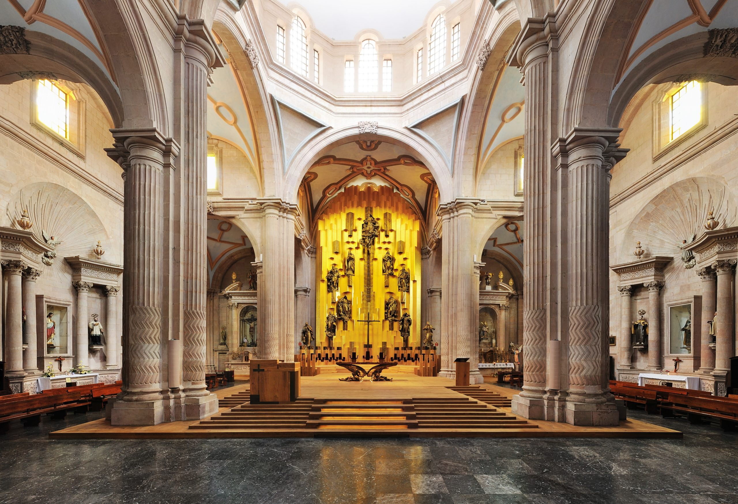 Gilded altar, Mexico
